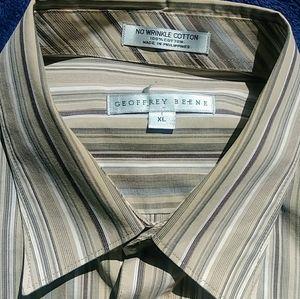 "Geoffrey Beene ""No Wrinkle"" Dress Shirt"